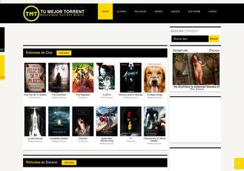 tumejortorrent.com screenshot