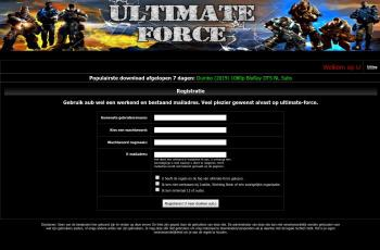 ultimate-force.biz screenshot