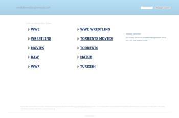 worldwrestlingtorrents.net screenshot