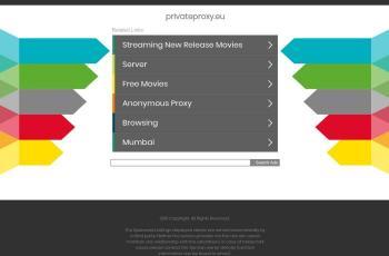 privateproxy.eu screenshot