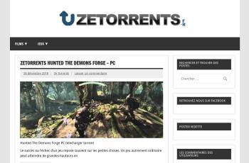 zetorrents.fr screenshot
