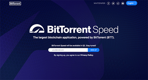 BitTorrent BTT Token