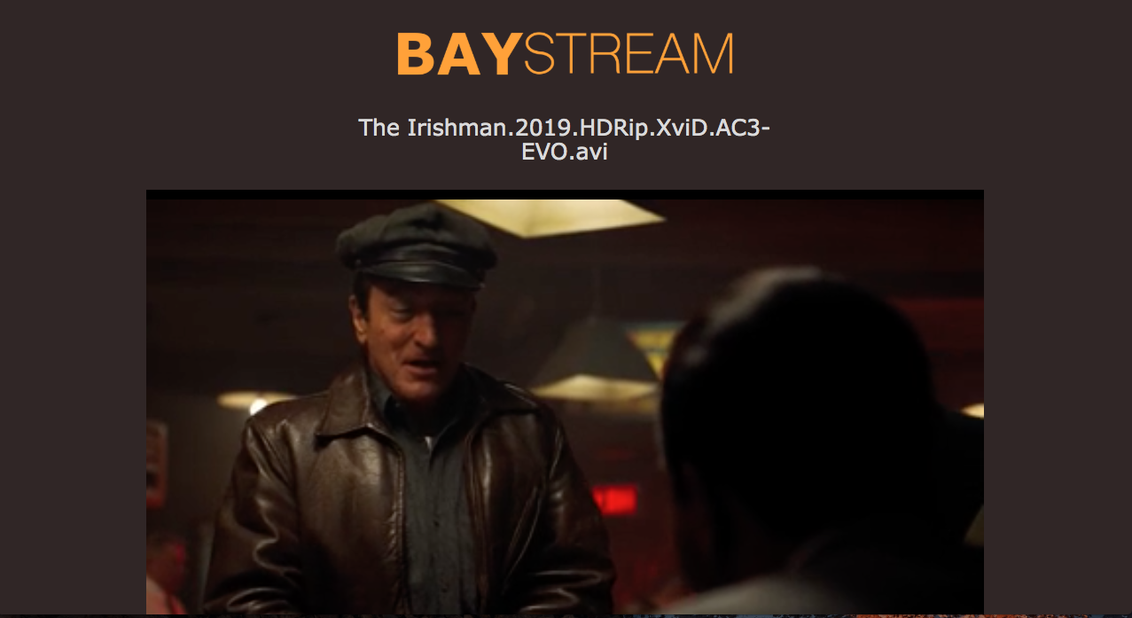PirateBay streaming service BayStream